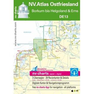 NV Verlag Duitsland DE 13 – Ostfriesland – Borkum tot Helgoland en Eems