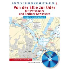 Delius Klasing Deutsche Binnenwasserstrassen 4: Duitsland Oost