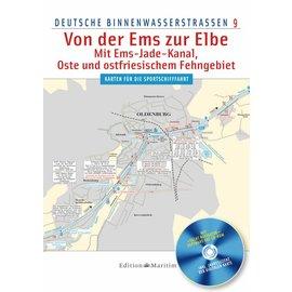 Delius Klasing Deutsche Binnenwasserstrassen 9: Von der Ems zur Elbe