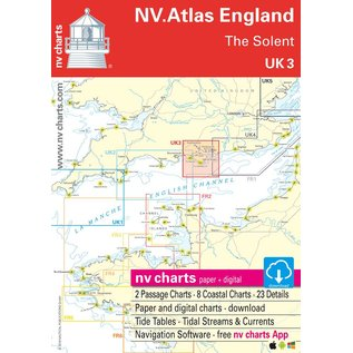 NV Verlag NV Atlas UK3 Engeland – The Solent