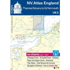 NV Verlag NV Atlas UK5 Engeland – Thames Estuary to Great Yarmouth