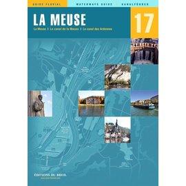 Editions du Breil Vaarkaart 17  La Meuse (Maas)
