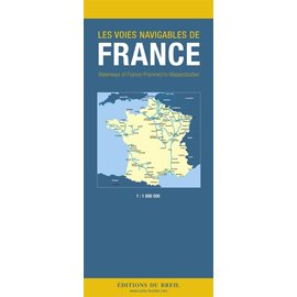 Editions du Breil Overzichtskaart Frankrijk