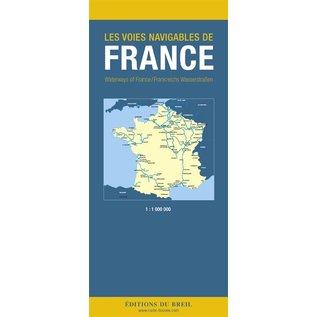 Editions du Breil Vaarkaart Frankrijk Editions Du Breil