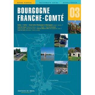 Editions du Breil Vaarkaart Bourgogne Frans-Comté - Editions du Breil no. 3