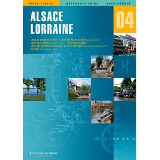 Editions du Breil Vaarkaart Elzas Lorraine - Editions du Breil no. 3 - Copy