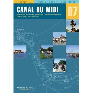 Editions du Breil Vaarkaart Canal du Midi - Editions du Breil no. 7