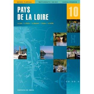 Editions du Breil Vaarkaart Pays de la Loire - Editions du Breil no. 10