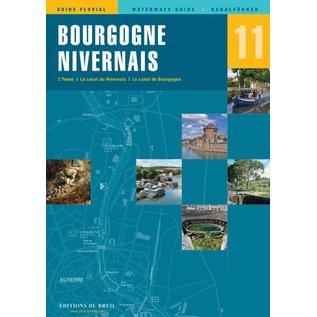 Editions du Breil Vaarkaart Bourgogne Nivernais - Editions du Breil no. 11