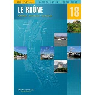 Editions du Breil Vaarkaart Le PetitRhône - Editions du Breil no. 18