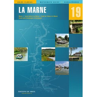 Editions du Breil Vaarkaart La Marne - Editions du Breil no. 19