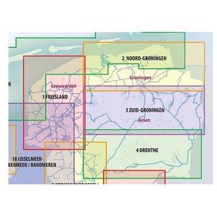 ANWB vaarkaarten ANWB Waterkaart 4 - Drenthe