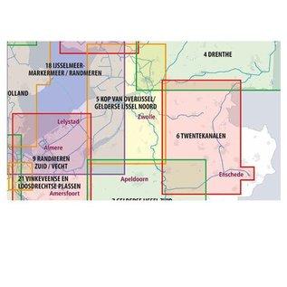 ANWB vaarkaarten ANWB Waterkaart 6 Twentekanalen