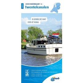 ANWB vaarkaarten ANWB Waterkaart 6 Twentekanalen 2019