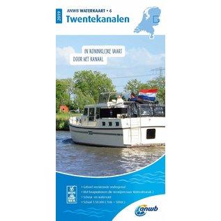 ANWB ANWB Waterkaart 6 Twentekanalen 2019