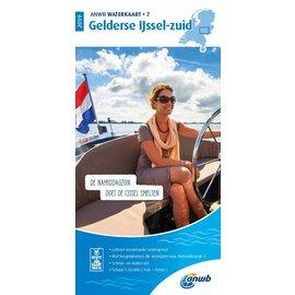 ANWB vaarkaarten ANWB Waterkaart 7 Gelderse IJssel-Zuid