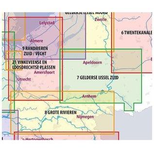 ANWB vaarkaarten ANWB Waterkaart 8 - Grote Rivieren