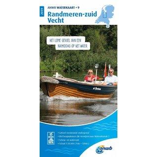 ANWB ANWB Waterkaart 9 - Randmeren-Zuid/Vecht