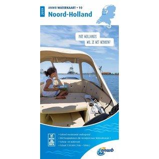 ANWB ANWB Waterkaart 10 - Noord-Holland