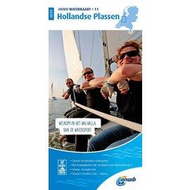 ANWB vaarkaarten ANWB Waterkaart 11 - Hollandse Plassen