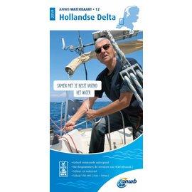 ANWB vaarkaarten ANWB Waterkaart 12 - Hollandse Delta