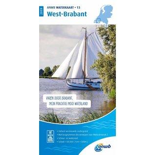 ANWB ANWB Waterkaart 13 - West-Brabant