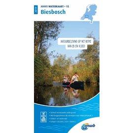 ANWB vaarkaarten ANWB Waterkaart 15 - Biesbosch