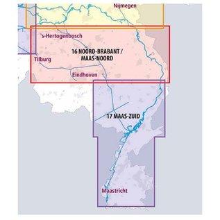 ANWB ANWB Waterkaart 16 - Noord-Brabant/Maas-Noord