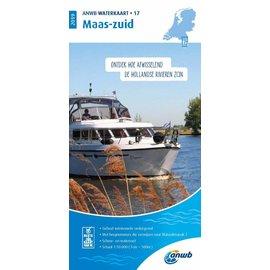 ANWB vaarkaarten ANWB WaterAtlas 17 - Maas-Zuid