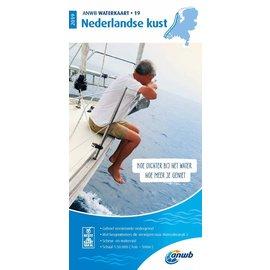 ANWB vaarkaarten ANWB Waterkaart 19 Noordzeekust