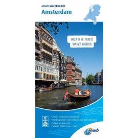 ANWB vaarkaarten ANWB Waterkaart Amsterdam