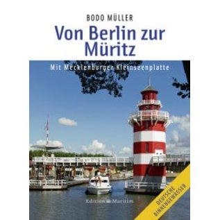Delius Klasing Vaarkaart Von Berlin zur Muritz