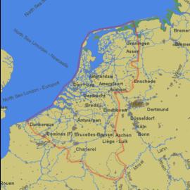 PC Navigo PC Navigo Benelux 2019 MET GPS ontvanger
