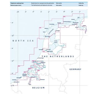 Hydrografische Dienst 1801 Noordzeekust