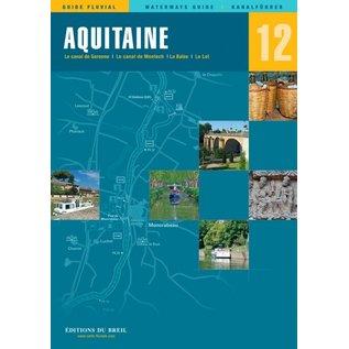 Editions du Breil Editions du Breil 12 - Vaarkaart Aquitaine