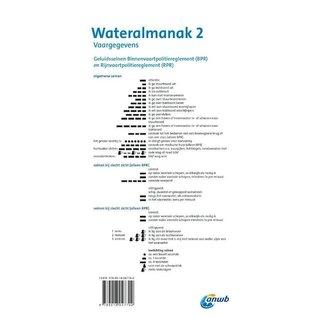 ANWB Watersportboeken ANWB Wateralmanak deel 2 editie 2021