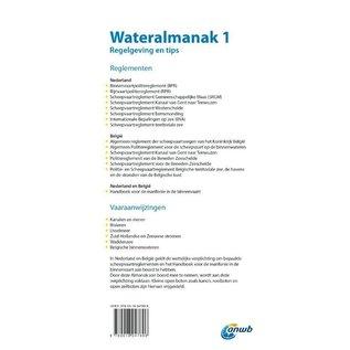 ANWB Watersportboeken ANWB Wateralmanak deel 1 editie 2021-2022