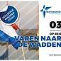 Roskam uitgeverij Varen naar de Wadden, een handig boek