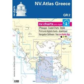NV Verlag Vaarkaart Griekenland GR2 Cycladen naar Kreta en Athene