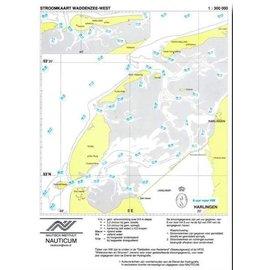 Nauticum Stroomkaart Waddenzee West