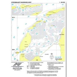 Nauticum Stroomschuifkaart Waddenzee West