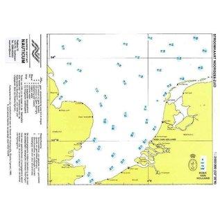 Nauticum Stroomschuifkaart Noordzee