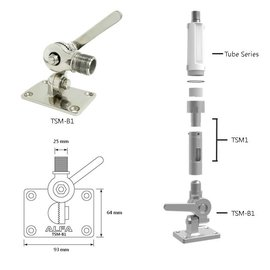 Alfa Netwerk Alfa RVS montageset 701240
