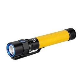 Olight ledlampen Olight S2A baton geel 550 lumen