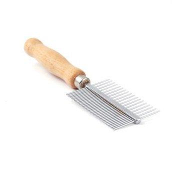 CleanPets (eigen merk) Kam special dubbel houten handvat - Fijn/Medium