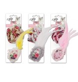 All for paws All for Paws (AFP) Shabby Flower and Feather Ball (2 pack)