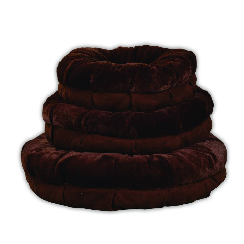 All for paws All for Paws (AFP) Plush Snuggle Bed Brown OP=OP