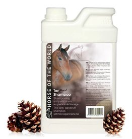 Horse of the World Tar Pearl shampoo