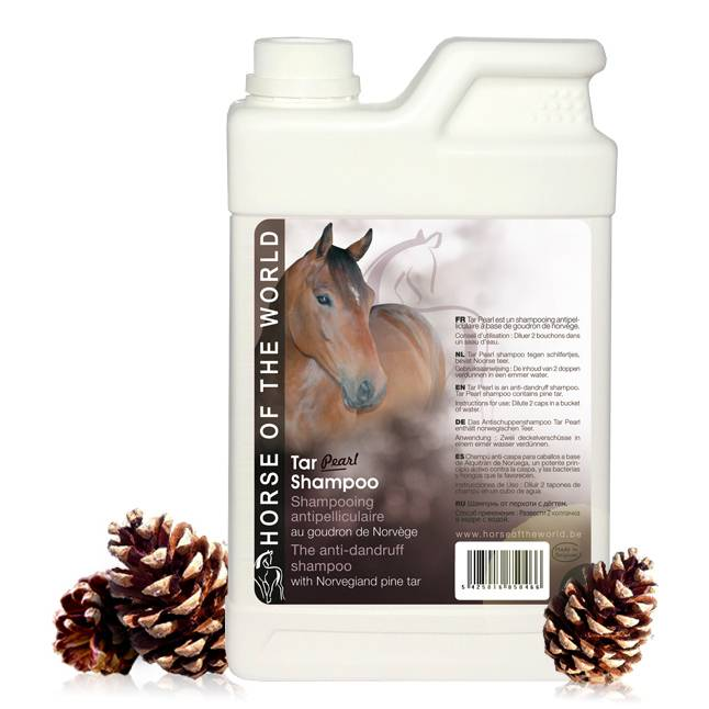 Horse of the World Horse of the World Tar Pearl shampoo