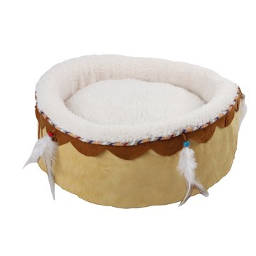 All for paws All for Paws (AFP) - Dream Catcher Round cuddler Bed Sand/Beige